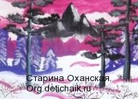 На-закате - Соловьева-Полина-11-лет