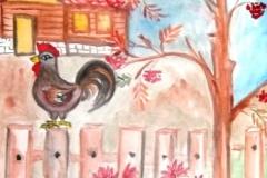 Утро-в-деревне - Лодягина-Юлия-9-лет