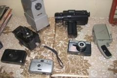 коллекция фотоаппаратов