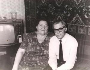 1978 год Ольга Николаевна и Борис Петрович Соколовы (1)