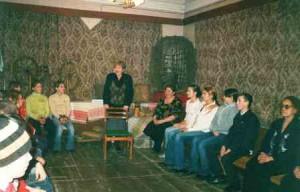 Дети группы Память - встреча с ветеранами