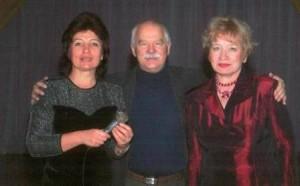 Казакова с коллективом ДК