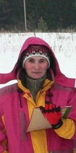 Нина Васильевна судья - лыжные гонки