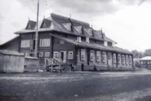 народный дом сгорел в марте 1919 г.