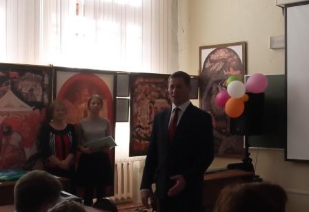 Дмитрий Владимирович новый глава администрации района