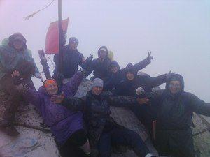 На вершине горы Таганая